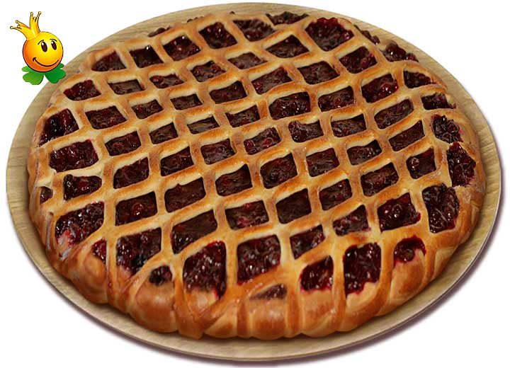 Пирог с брусникой дрожжевое тесто